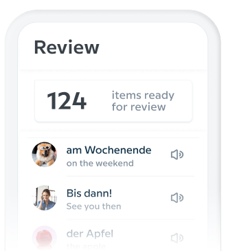 Babbel review feature
